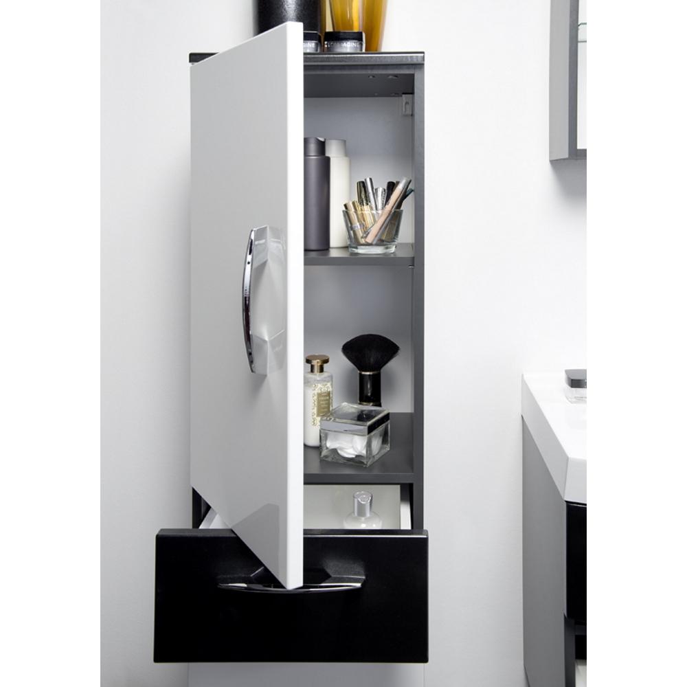 badezimmer hochschrank anthrazit mit spiegel inspiration design raum und m bel. Black Bedroom Furniture Sets. Home Design Ideas