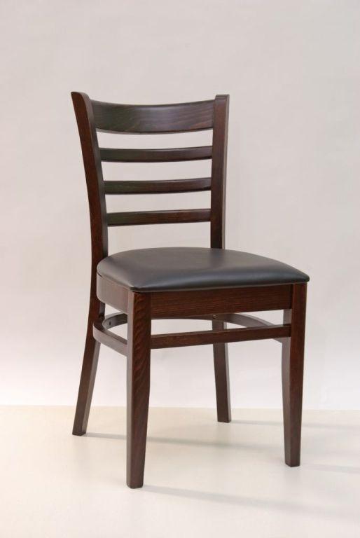 2er set polstertuhl gastro 2310 lederlook schwarz stuhl for Stuhl schwarz esszimmer
