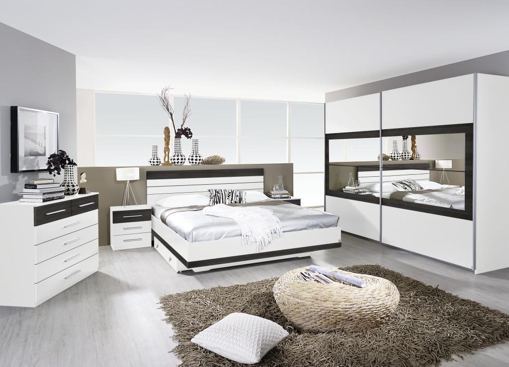 Komplettschlafzimmer TARRAGONA 4-teilig Bett Schrank Schlafzimmer ...