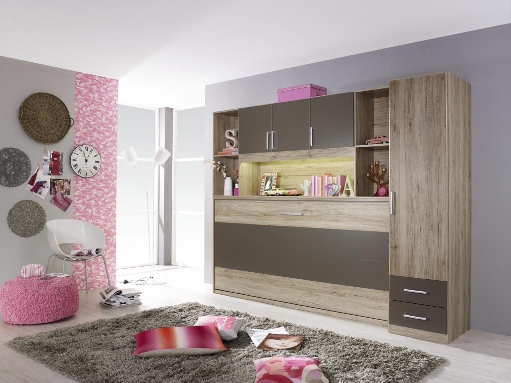 querklappbett wandkombination klappbett querklappbett schrankbett bett schrank ebay. Black Bedroom Furniture Sets. Home Design Ideas