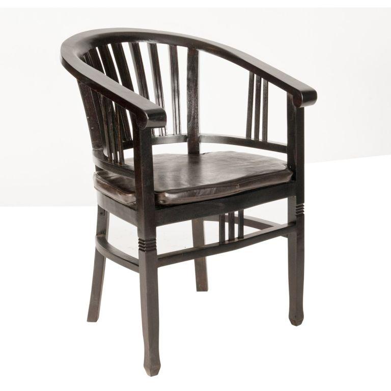 armlehnstuhl samba akazie massiv antikfinish stuhl esszimmer 50 x 86 cm eur 225 00 picclick de. Black Bedroom Furniture Sets. Home Design Ideas