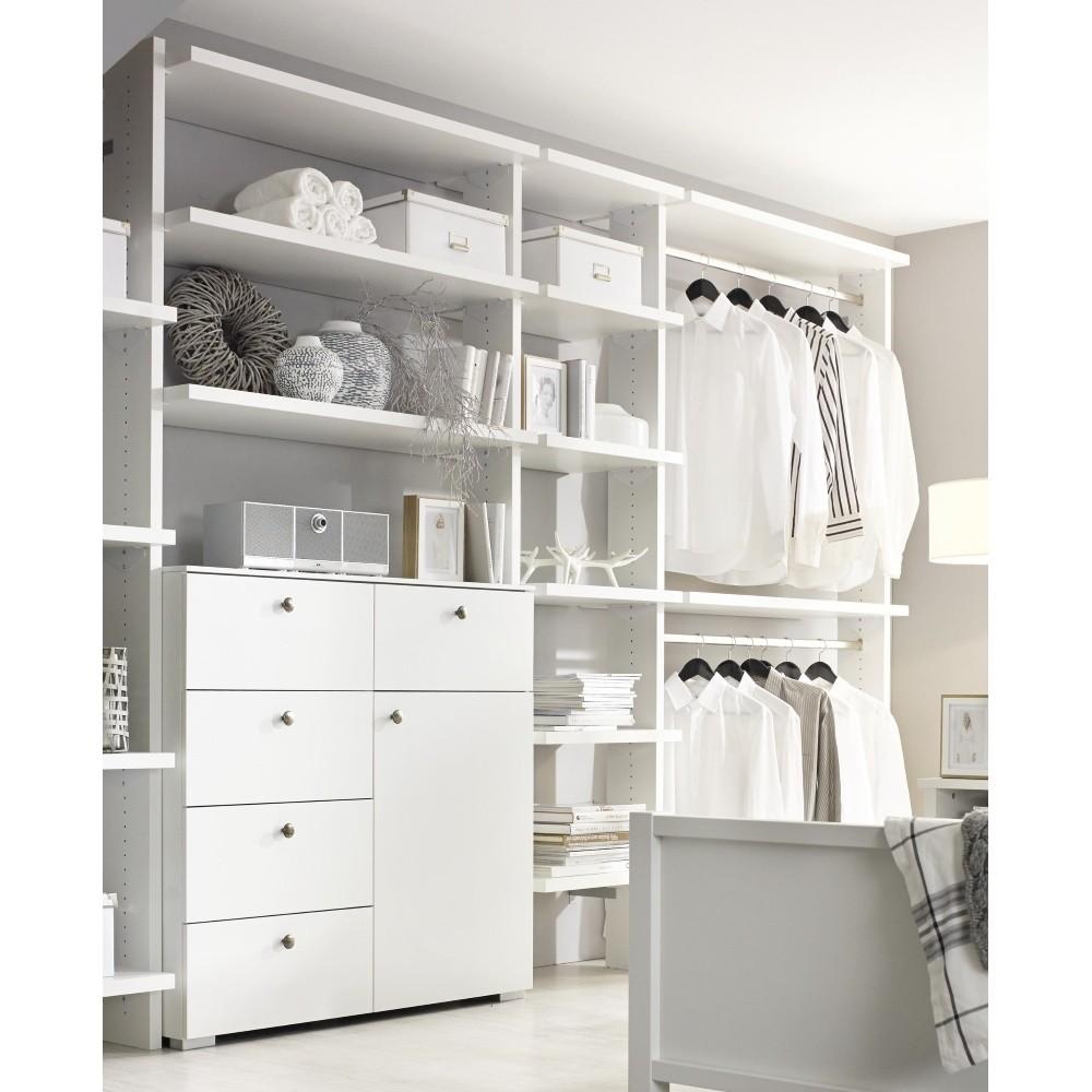 Schlafzimmer-Regal MARIT alpinweiß | Möbel FHS