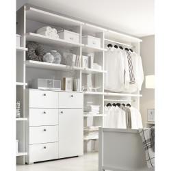 Schlafzimmer-Regal MARIT alpinweiß