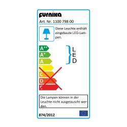 Aufsatzleuchte + Schalter-/Steckdosenbox Gama