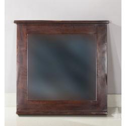 Spiegel Shutter dunkelgrau 67 x 5 x 78 cm