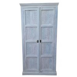 Schrank White weiß 80 x 45 x 180 cm