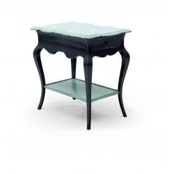 Beistelltisch Pompidou dunkelblau 74 x 50 x 72 cm