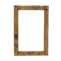 Spiegel Thar weiß/braun 110 x 3,5 x 75 cm