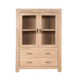 Highboard Scott Eiche massiv white wash