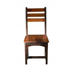 Stuhl Fortezza natur / dunkel gebeizt 45 x 45 x 100 cm