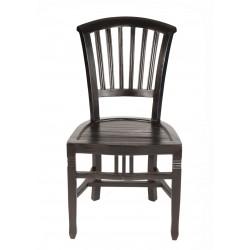 Stuhl Samba Akazie massiv antikfinish 50 x 95 cm