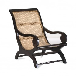 Lazy-Chair Samba Akazie massiv antikfinish 58 x 99 cm