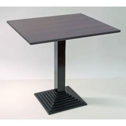 Bistro-Tisch Gastro 9956 Fuß Gusseisen Platte Buche furniert 70 x 80 cm