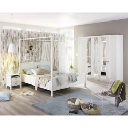 Komplett-Schlafzimmer MARIT IV (4-teilig) versch. Bett- & Schrankgrößen