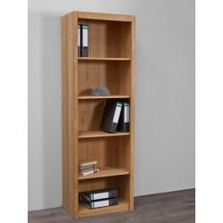 Bücherregal Minister Wildeiche natur 65 x 201 x 40 cm